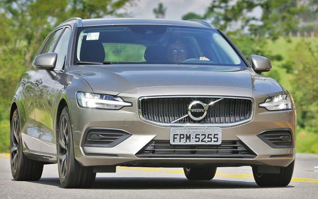 Novo Volvo V60 2019: preço e detalhes oficiais - Brasil