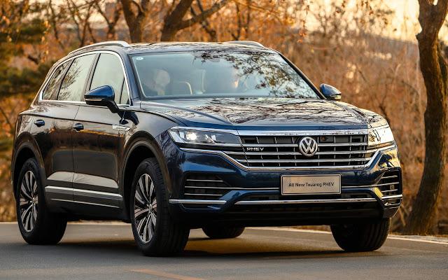 Volkswagen Touareg PHEV 2020 é lançada na China