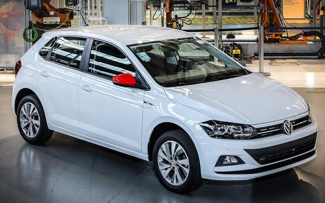 Volkswagen comemora 200 mil Polo e Virtus produzidos