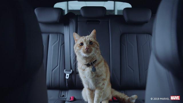 Audi e-Tron mostrado na pré-estreia de Vingadores: Ultimato