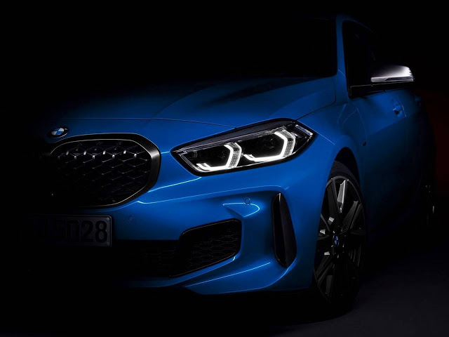 Novo BMW Série 1 2020 de tração dianteira: fotos oficiais