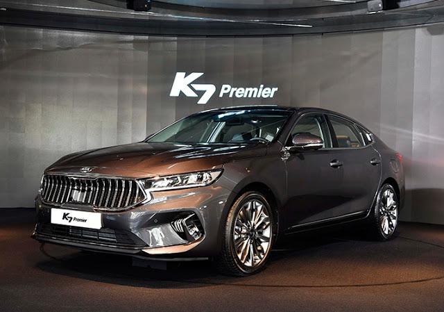 Novo Kia Cadenza 2020 é apresentado na Coreia do Sul