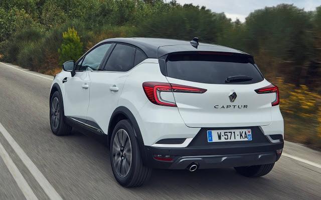 Novo Renault Captur 2020 começa a ser vendido - Europa