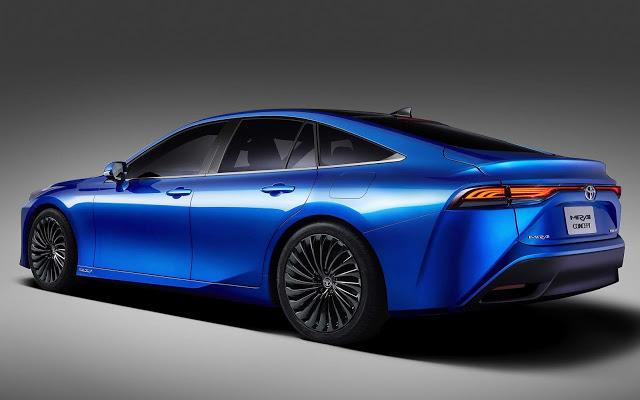 Toyota mostra novo Mirai em Tokyo com design que sugere inspiração no Audi A7