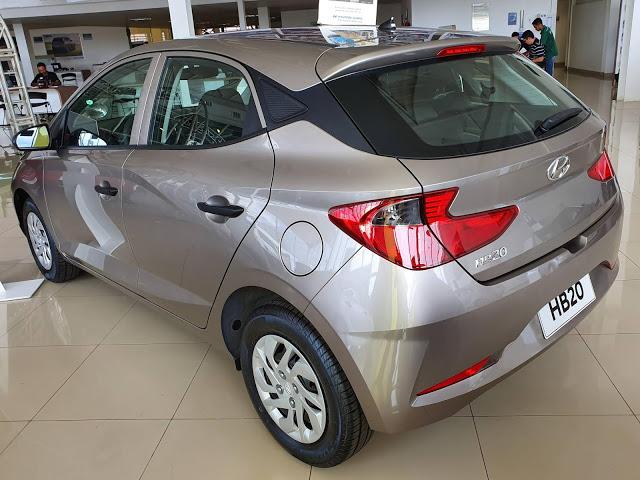 Novo Hyundai HB20 2020: versões Sense (acesso), Vision e Lauch Edition 1.6 AT - fotos e vídeo