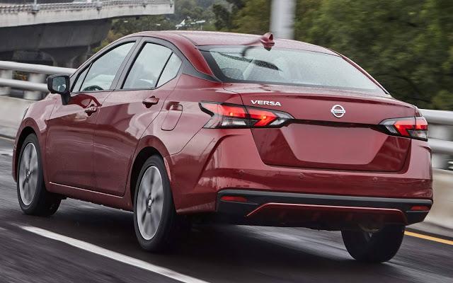 Nissan Versa 2020 chega ao México para enfrentar o Virtus