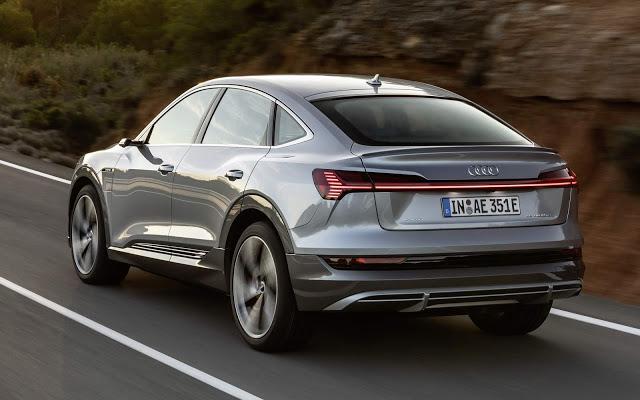 Audi e-Tron Sportback: SUV elétrico cupê chega aos EUA