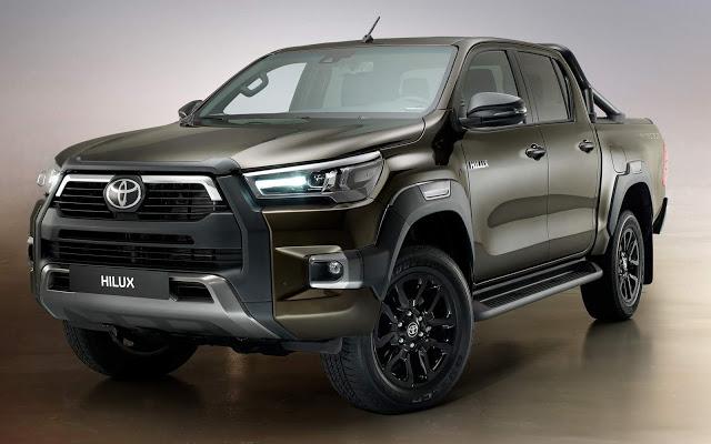 Nova Toyota Hilux 2021 tem atualização e mais desempenho