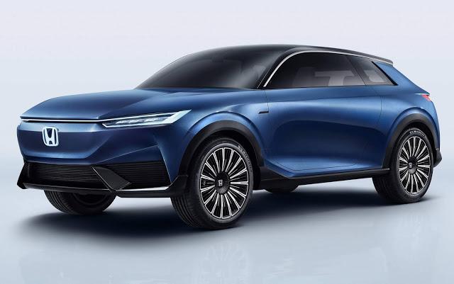 Honda SUV e 100% elétrico é apresentado na China - fotos