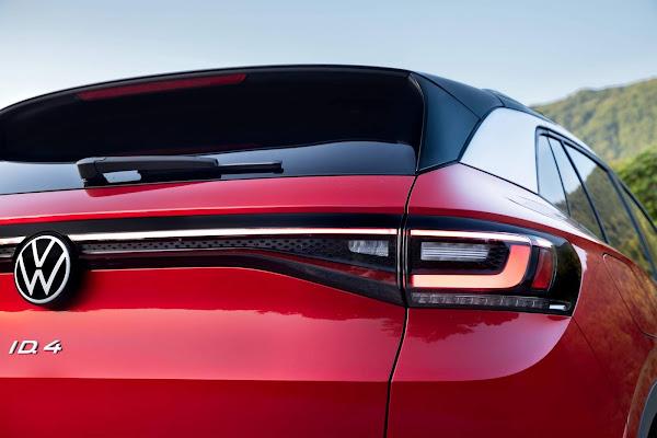 VW ID.4 EV obtém classificação máxima de segurança no IIHS: EUA