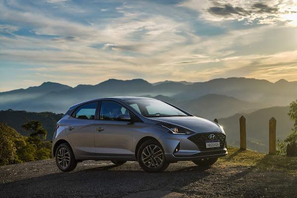 Hyundai HB20 assume a liderança no Brasil no final de setembro